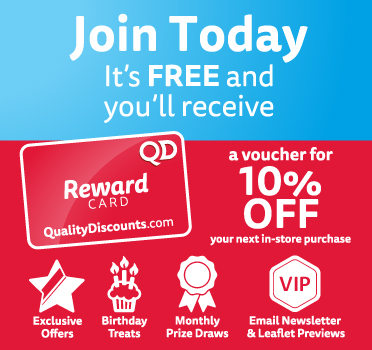 Join today and receive special deals